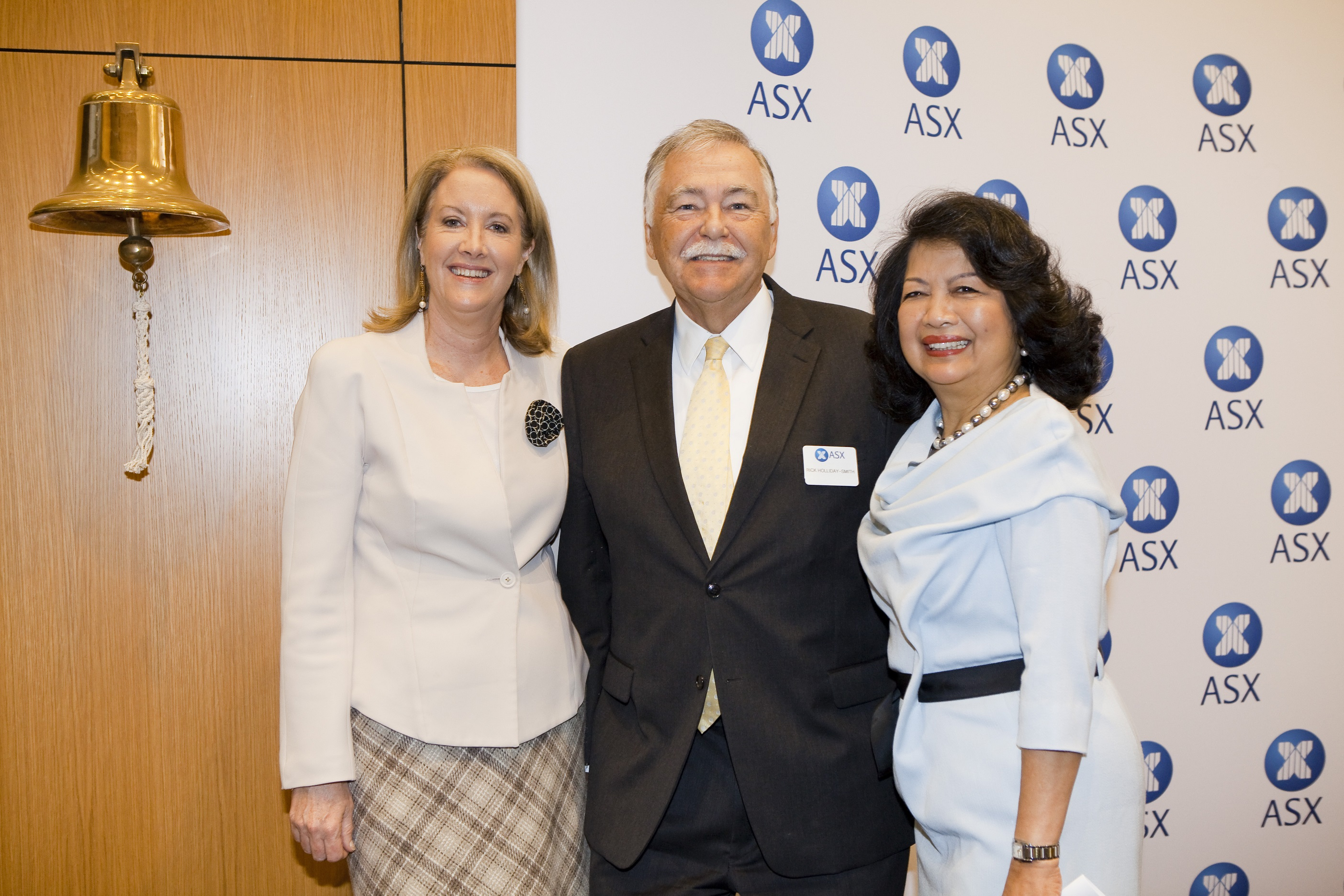 Commissioner Broderick, Chairman Holliday-Smith, and CWDI Chair Natividad
