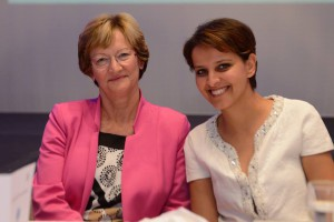 Minister Najat and Nicole_Notat