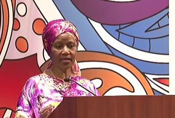 Phumzile Mlambo-Ngcuka: 2015 Global Summit of Women