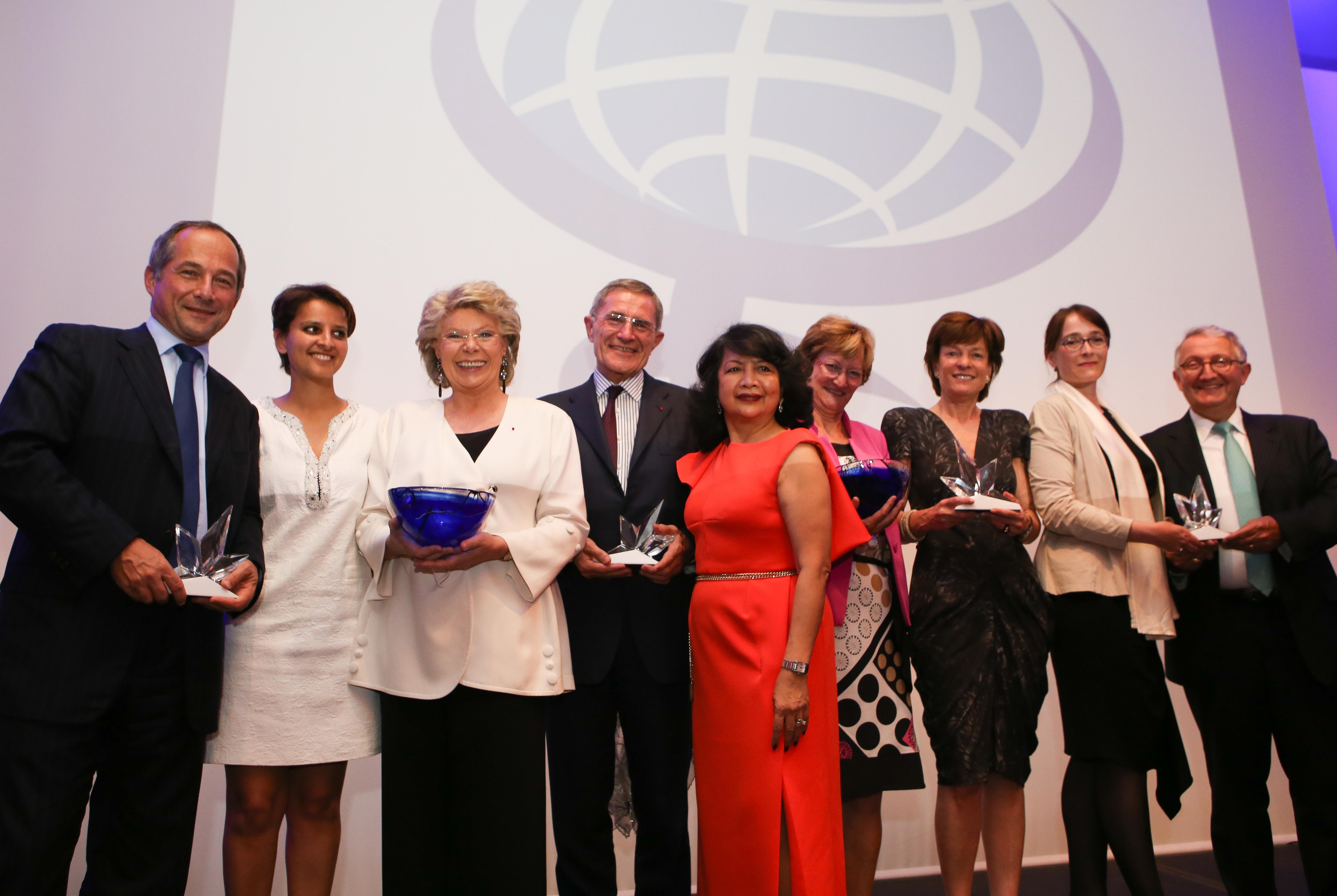 Viviane Reding Global Summit of Women Award