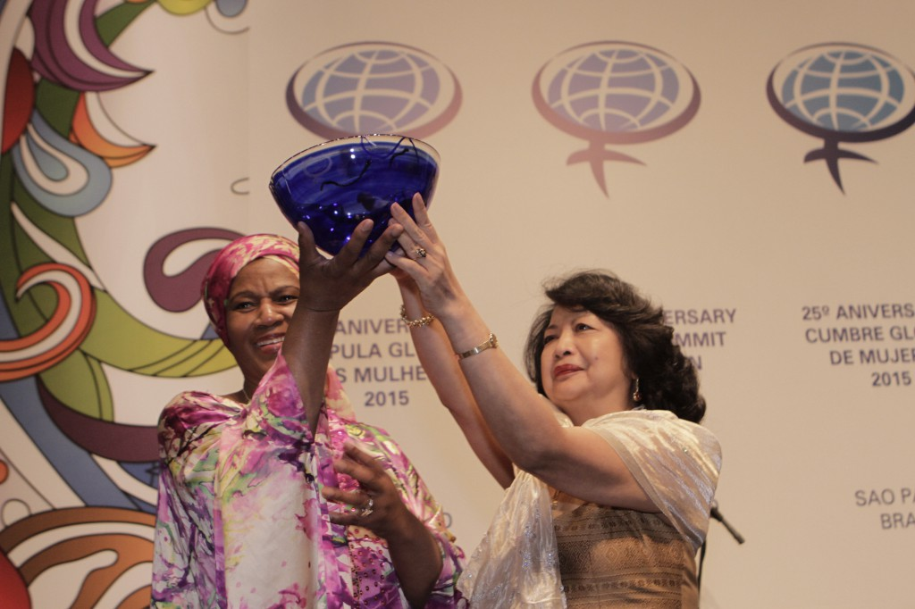Phumzile Mlambo-Ngcka receives Global Women's Leadership Award